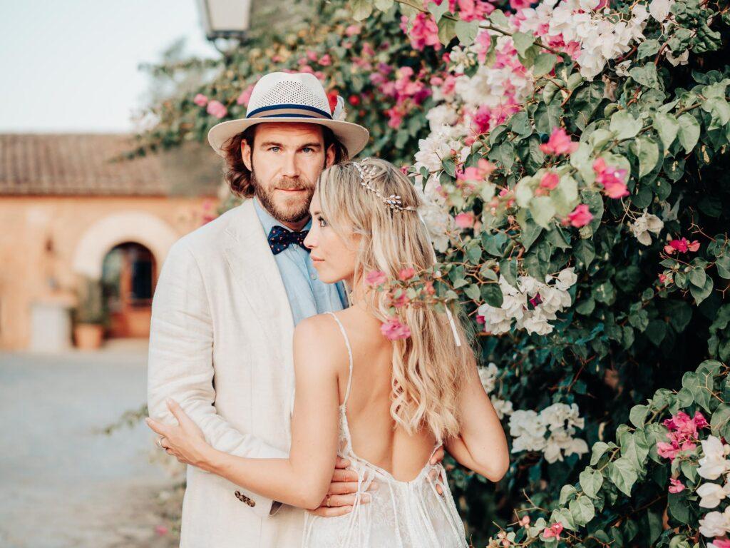Brautpaar auf Mallorca