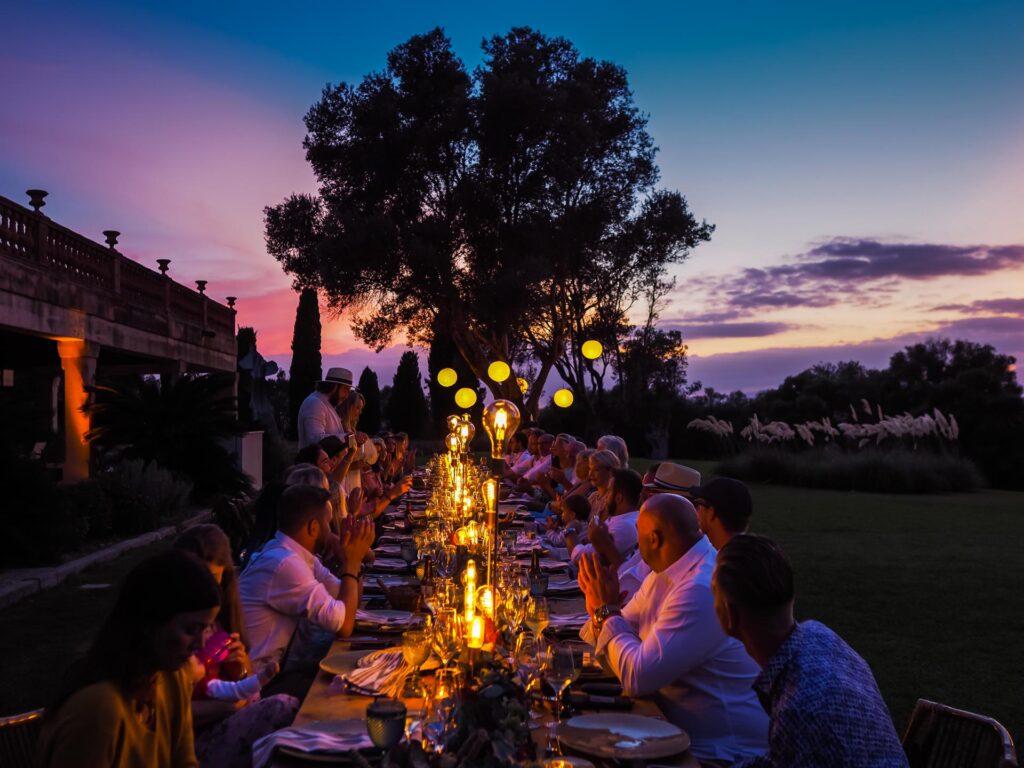 Abendstimmung Hochzeit Mallorca