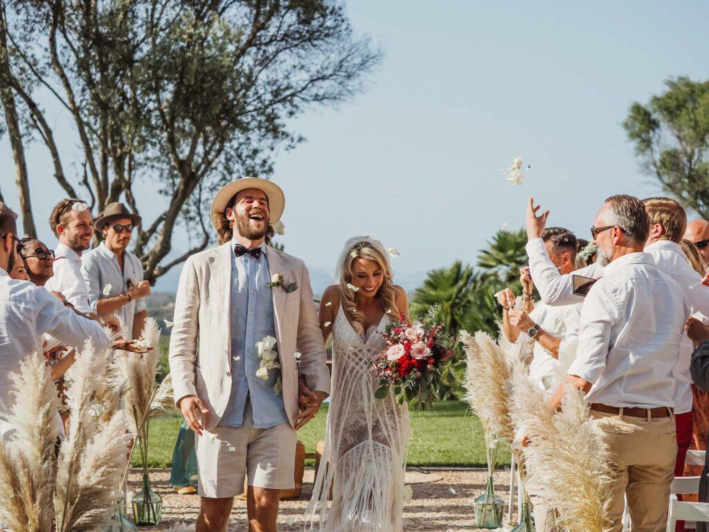 alternative Hochzeit im Süden